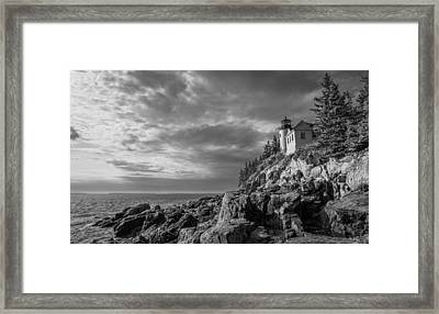 Bass Harbor Views Framed Print