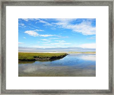 Bass Hole II Framed Print