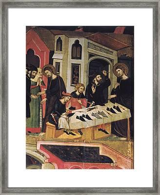 Bassa, Arnau 14th Century. Saint Marks Framed Print