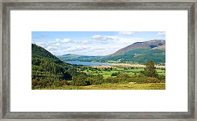 Framed Print featuring the photograph Bassenthwaite Lake by Jane McIlroy