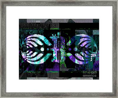 Bassnectar  Framed Print by Andrew Kaupe