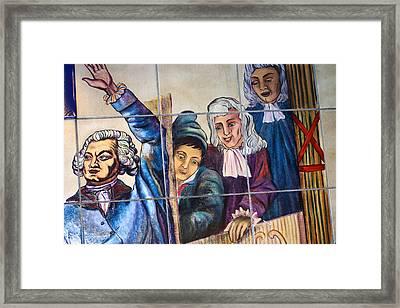 Bastille Metro No 2 Framed Print by A Morddel