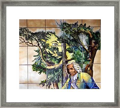 Bastille Metro No 4 Framed Print by A Morddel