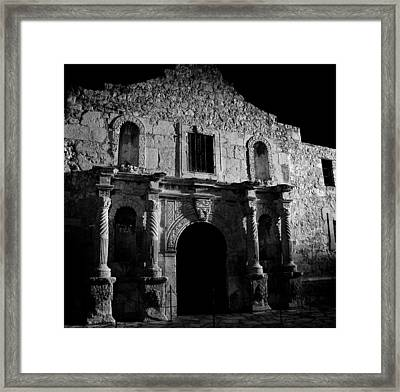 Bastion Of Legends Framed Print