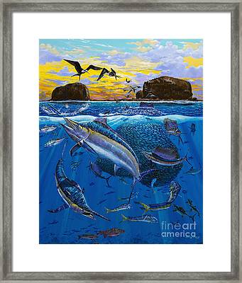 Bat Island Off00139 Framed Print by Carey Chen