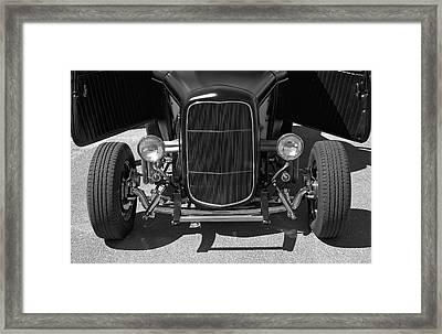 Bat Wings - Ford Coupe Framed Print by Jane Eleanor Nicholas