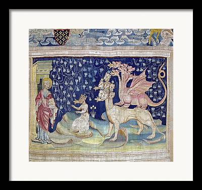 Frogs Tapestries - Textiles Framed Prints