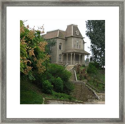 House Of Norman Bates Framed Print