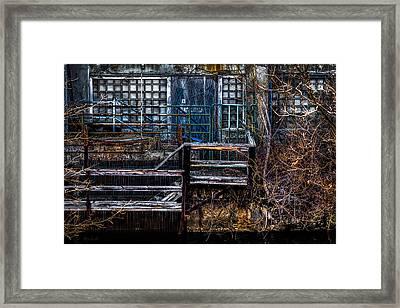 Bates Mill No 5 Framed Print by Bob Orsillo
