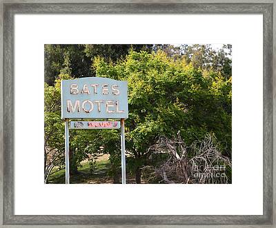 Bates Motel 5d28623 Framed Print