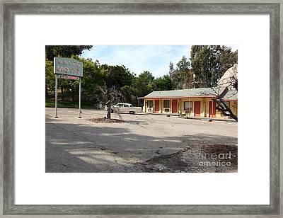 Bates Motel 5d28624 Framed Print