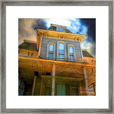 Bates Motel 5d28867 Square Framed Print by Wingsdomain Art and Photography