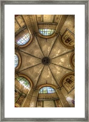 Bath House Roof Framed Print by Nathan Wright
