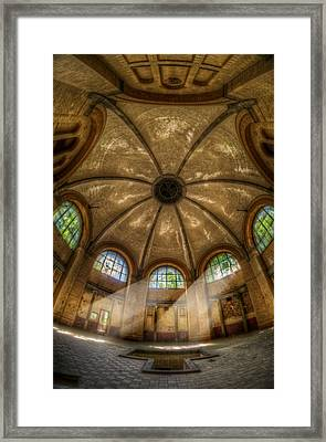Bath Room Lights Framed Print