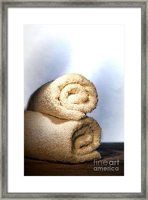 Bath Towels Framed Print