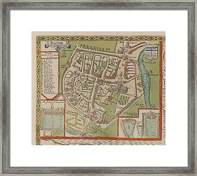 Bathe Framed Print by British Library