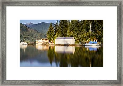 Bathgate Marina Framed Print