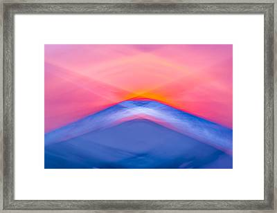 Bathing Corp Sunrise 5 Framed Print by Ryan Moore
