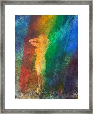 Bathing In Light Framed Print