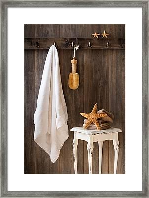 Bathroom Framed Print by Amanda Elwell