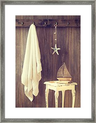 Bathroom Interior Framed Print
