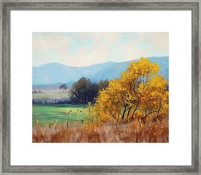 Bathurst Landscape Framed Print