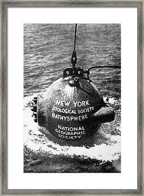 Bathysphere Framed Print by Cci Archives