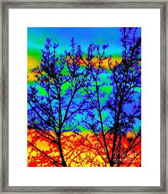 Batik By Design Framed Print by Ann Johndro-Collins