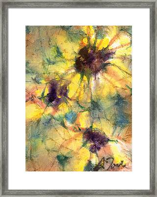 Batik Style No.44  Framed Print