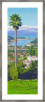 Batiquitos Lagoon 2014 Framed Print by Mary Helmreich