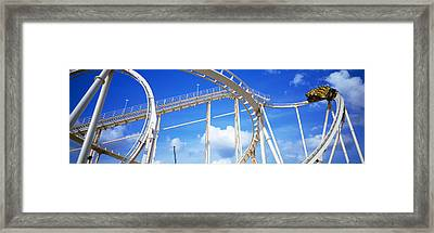 Batman The Escape Rollercoaster Framed Print
