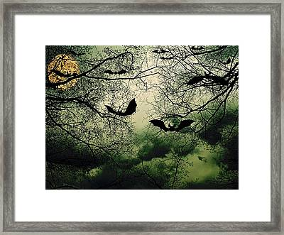 Bats From Hell Framed Print