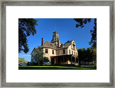 Batsto Village Mansion Framed Print