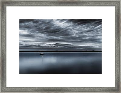 Batten Down The Hatches Framed Print by Ryan Manuel