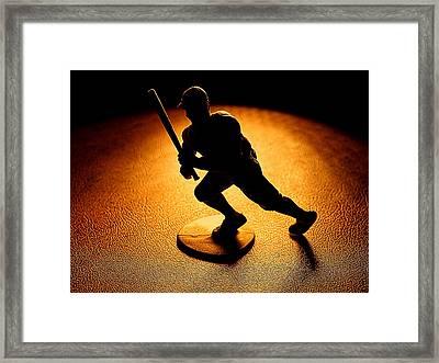 Batter Batter Framed Print by Camille Lopez