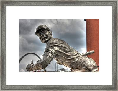 Batter Up Framed Print by Jane Linders