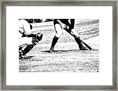 Batter Up Framed Print by Karol Livote