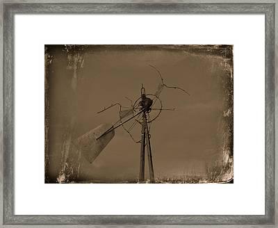 Battered Framed Print by Mikki Cromer