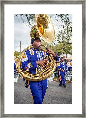 Battered Tuba Blues 2 Framed Print