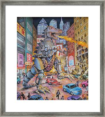 Batteries Not Included Framed Print by Henry David Potwin