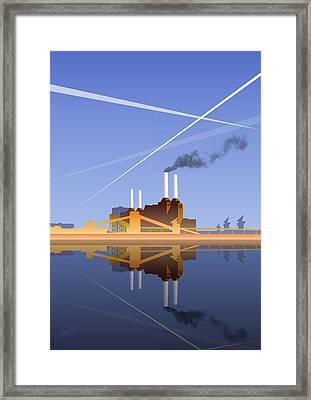 Battersea Infinity Framed Print