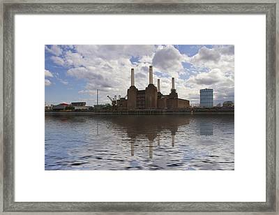 Battersea Power Station London Framed Print by David French
