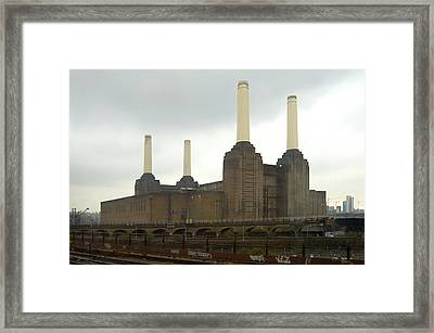 Battersea Power Station - London Framed Print by Mike McGlothlen