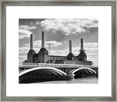 Battersea Power Station London Framed Print by Philip Pound