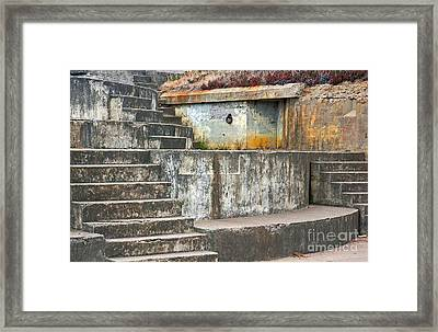 Framed Print featuring the photograph Battery Chamberlin by Kate Brown