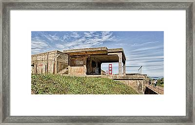 Battery Godfrey Framed Print by Robert Rus
