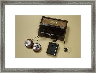 Battery Operated Hearing Aid Framed Print