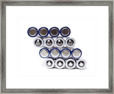 Battery Packs Framed Print