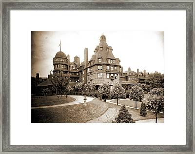 Battery Park Hotel, Asheville, N.c, Jackson Framed Print by Litz Collection