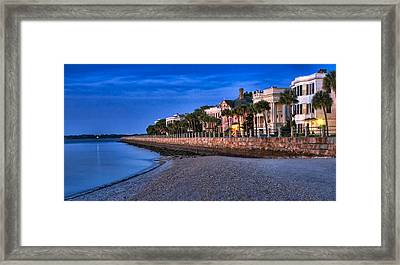 Battery Row Framed Print